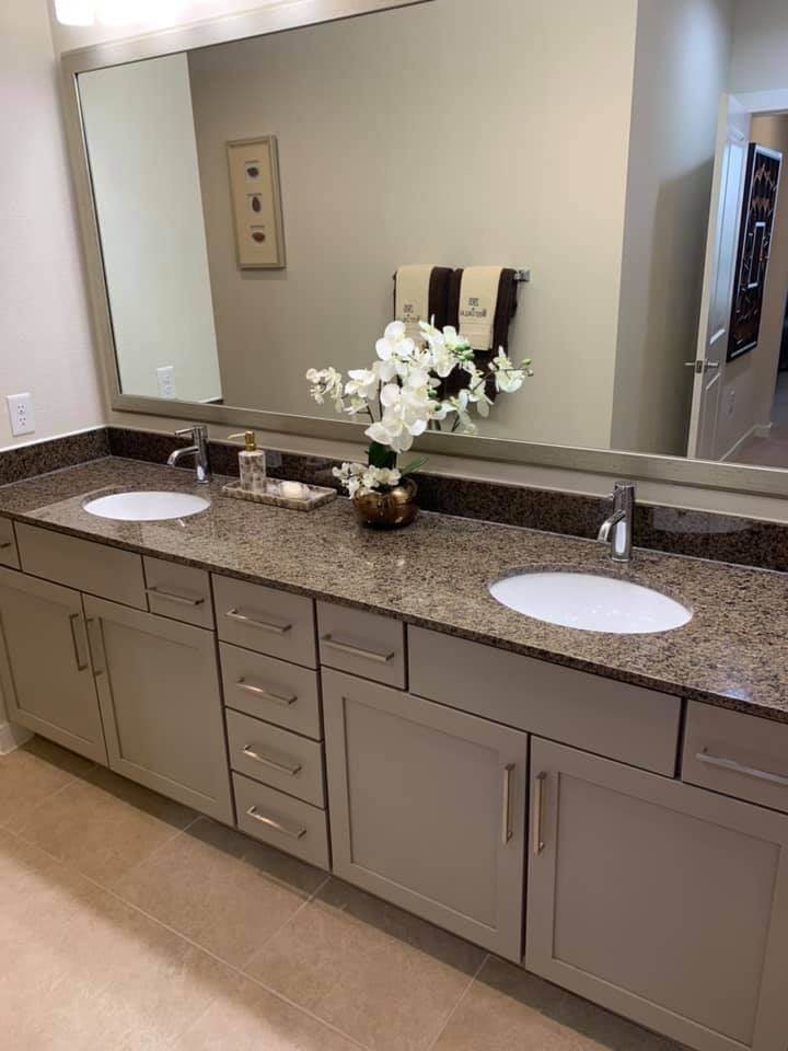 Double Vanity quality finishes