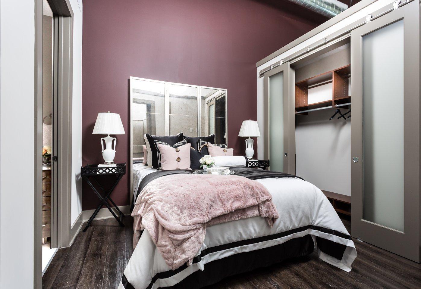midtown dallas  luxury loft style one bedroom w